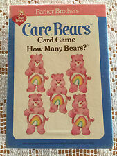 Care Bears Card Game How Many Bears?  1983