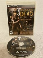 Telltale Games THE WALKING DEAD SEASON 2 (2014) PLAYSTATION 3 PS3 Case & Disc
