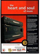 Harman Kardon AVR 8500 dvd/cd player-2003 magazine advert
