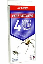 Jt Eaton 844 Pest Catchers Large Spider and Cricket Size Glue Trap, 4 Traps