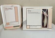 Beauty Bio GloPro Microneedling Regeneration & Xtra Head Tool Pink w/ Case