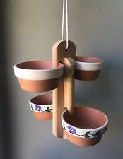 NEW Birdie Buffet Cypress 4-Pot Bird Feeder (Dishwasher Safe!)