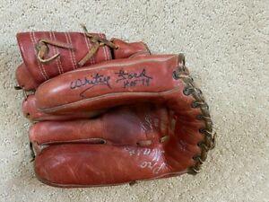 Whitey Ford Signed Autographed Vintage Pro Model Glove RARE YANKEES HOF PSA DNA