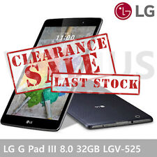 LG G Pad III 8.0 Tablet PC Full-HD 32GB LGV-525 WIFI Black - Clearance Sale