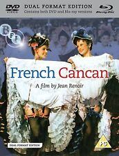 French Cancan: a film by Jean Renoir: Jean Gabin, Edith Piaf - New Blu-Ray / DVD