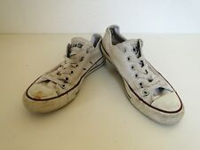Converse All Star Chucks Sneaker Turnschuhe Slim Low Stoff Weiß Gr. 6 / 37,5
