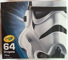 Crayola Star Wars Crayons 64 Pack Star Wars Storm Trooper Collectible BRAND NEW