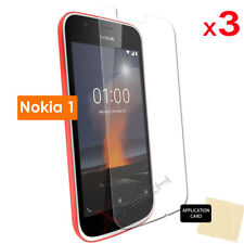 3 Pack of CLEAR Screen Protector Cover Guard Savers for Nokia 1