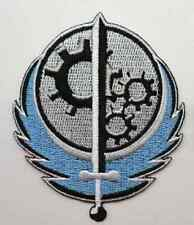 Fallout 4 Game, Brotherhood of Steel Logo Embroidered Iron Or Sew On 3'' Patch