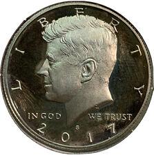 2017 S Proof Kennedy Half Dollar 50¢ Cent US Coin CV623