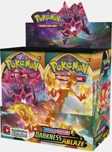 Pokémon Darkness Ablaze Booster Box - Factory Sealed - Free Express Postage
