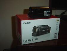 VIDEOCAMERA HD CANON LEGRIA HF R78 USATA SOLO ALCUNE VOLTE PERFETTA 5MESI GARANZ