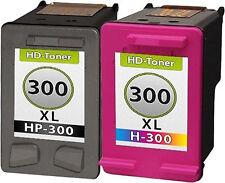2 cartuchos Tinta para HP 300xl Deskjet d1660 d2560 d2660 d5560 f2420 f2480 2492