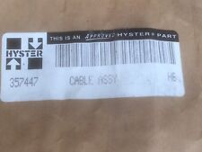 New listing New Hyster Cable Assembly 357447