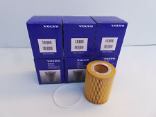 6 Pack Genuine Volvo Oil Filler 30750013 OEM