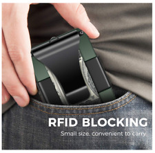 Aluminum Wallet Secrid Slim Wallet Money Clip with Key Chain for Men RFID slim
