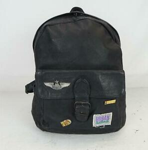 Urban Outback Backpack Leather Bag Black