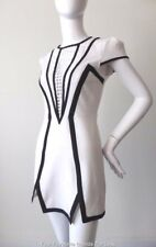 FINDERS KEEPERS White and Black Short Sheath Dress Size XS