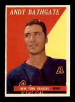 1958-59 Topps #21 Andy Bathgate EXMT X1318719