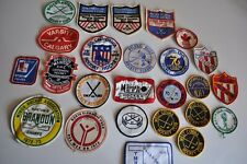 Vintage Hockey Patch LOT of 20+ Pieces 1970's / 80's