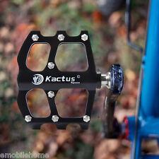 KACTUS 16t Bicicleta MTB MAGNESIO Pedales Platform CNC TITANIO 3 RODAMIENTOS
