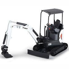 NEW 1:25 *BOBCAT EQUIPMENT* Model E20 Compact Excavator DIECAST MODEL *NIB*
