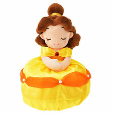 Disney Store Japan Princess Belle Yellow Dress Plush Throw Blanket Beauty Beast