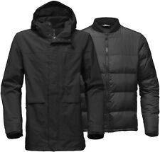 THE NORTH FACE OUTER BOROUGHS DOWN insulated TRICLIMATE GREY - MEN'S COAT - XL