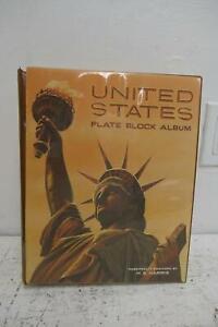 US Stamp Plate Block Album, Harris Vol. A, 1901-1963, Some Gaps, Mint