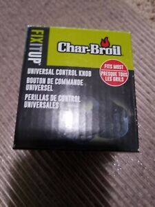 Char-Broil Universal Control Knob for gas grills with D-shape valve stem design