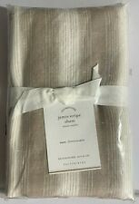 Pottery Barn Jamie Stripe Linen Cotton Pillow Sham, Euro, Free Shipping