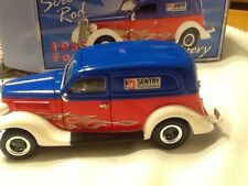 1935 Ford Sedan Delivery Street Rod Sentry 1:24 Scale Die Cast Lockable Bank
