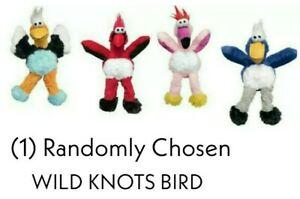 Kong WILD KNOTS BIRDS - (1) RANDOMLY CHOSEN MED/LG Rope Dog Toys w/Minimal Stuff