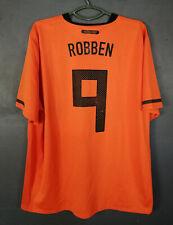 NETHERLAND HOLLAND 2010/2012 ROBBEN FOOTBALL SOCCER SHIRT JERSEY MAGLIA SIZE 2XL