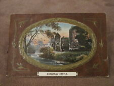 1909 fr Philco postcard - Rothesay Castle - Isle of Bute
