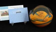 Jupiter Planetary Paperweight Glass Eye Studio Celestial Series Art 487F NIB