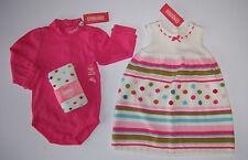 NWT Gymboree Cupcake Cutie 18-24 Polka Dot Sweater Dress Tights & Pink Bodysuit