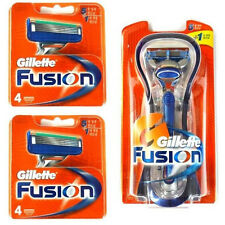 Gillette Fusion Manual 1 Razor + 8 Cartridges Refills Blade Made in Germany