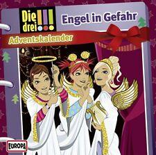 Die drei !!! Adventskalender - Engel in Gefahr (2 Audio-CD) (drei Ausrufezeichen
