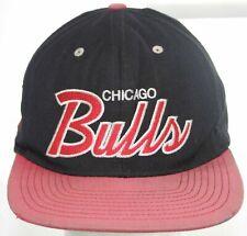 VTG Chicago Bulls Mitchell & Ness Snapback Cap NBA Hardwood Classics Wool Hat