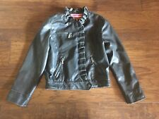 Dollhouse Girls Leather Jacket Size 14