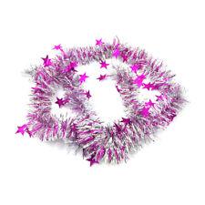 Xmas Tree Ornaments Christmas Tinsel Ribbon Decoration Home Party Holiday Decor