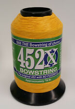 Yellow 452X 1/8 lb. Bow String Material