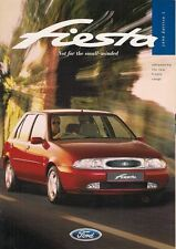Ford Fiesta Mk4 Mark 4 1996 Brochure Ghia Si LX Encore 1.25 1.4 1.8 Diesel