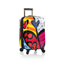 "Heys Romero Britto Collection USA A NEW DAY 21""SPINNERS CARRY ON *** NEW **"