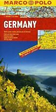 Marco Polo Maps: Marco Polo Germany Map (1:800,000) by Marco Polo (2012, Map,...
