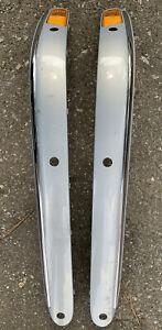 2006 MERCEDES BENZ W220 S500 S600 S55 LEFT/RIGHT BUMPER MOLDING TRIM A2208851521