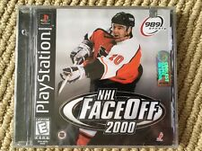NHL FaceOff 2000 - PS1 - Brand New - Factory Sealed - Black Label !!