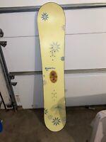 Burton 142cm Snowboard Good Condition