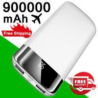 Holiday Gift Power Bank 900000mAh 2USB Travel Portable External Battery Charger